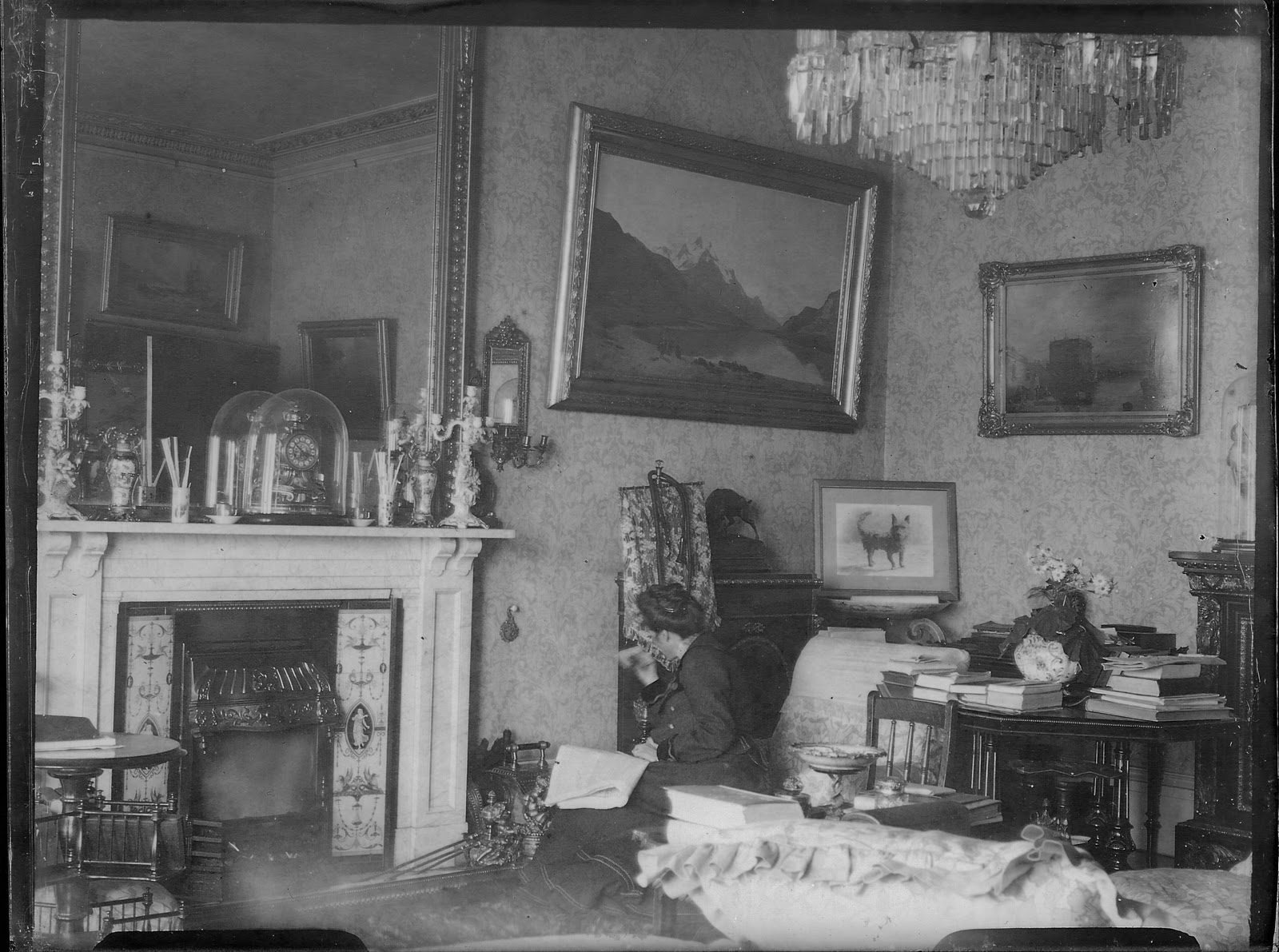 Daguerreian Dreams Edwardian Interiors - Edwardian house interiors