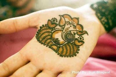 Arabic Henna Designs For Ganesh Chaturthi