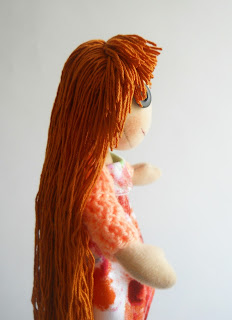 Текстильная кукла примитив
