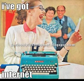 I've got internet!