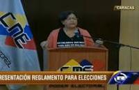 CNE presentó reglamento para garantizar participación política en parlamentarias