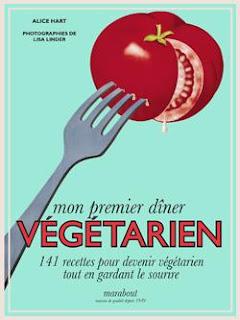 Mon premier diner végétarien - Selection livres à offrir pour Noel