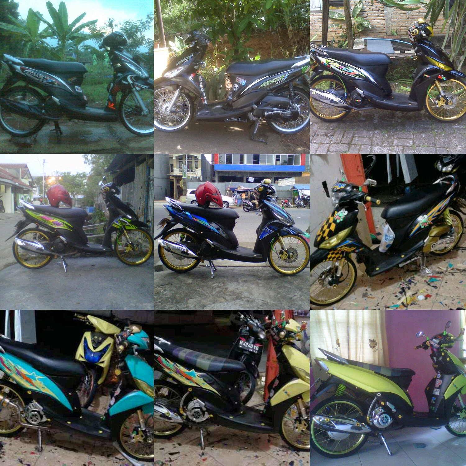 ide modifikasi mio j thailook