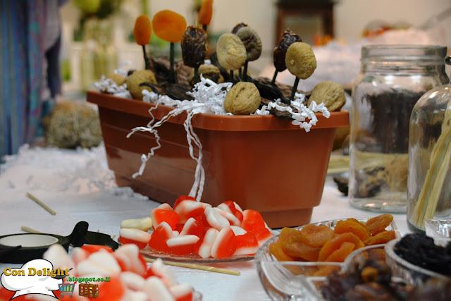 candies flowerpot