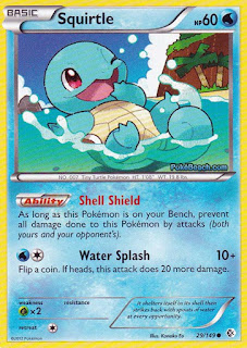 Squirtle Boundaries Crossed Pokemon Card