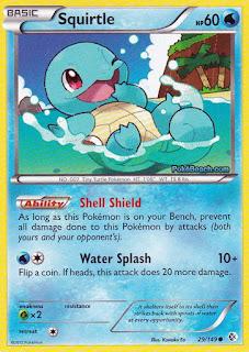 Squirtle Boundaries Crossed Pokemon Card