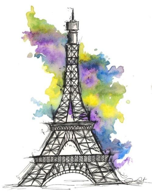 La tour eiffel eiffel tower clip art at vector clip image 1 - Menina Com Deus Sess 227 O Torre Eiffel