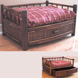 dogbeds: wooden dog beds