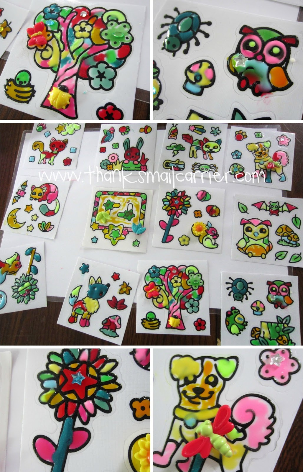 Gelarti stickers review