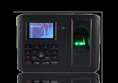 Ejemplo de punto de control de acceso con reconocimiento táctil