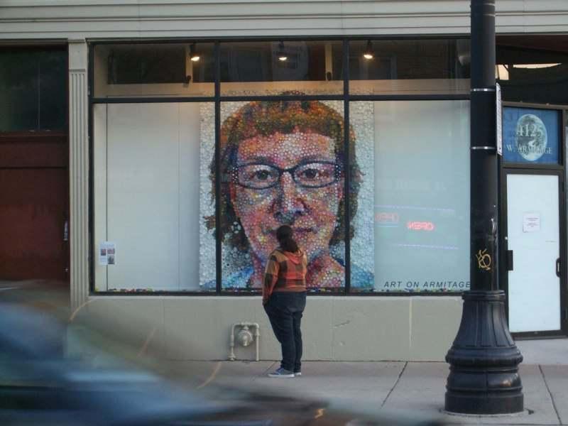 seni yang Lukisan Wajah-nya. Berikur karya Lukisan Mosaik Wajah dari