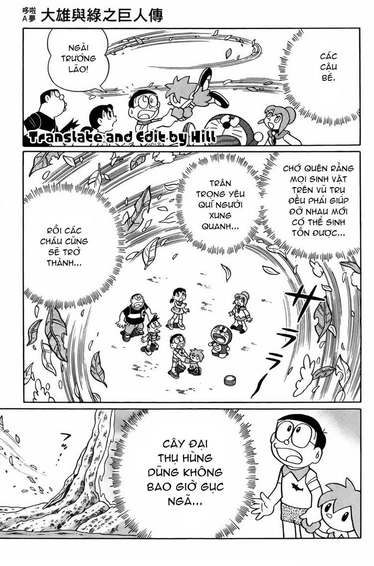 Truyện tranh Doraemon Dài Tập 25 - Nobita và truyền thuyết thần rừng trang 219