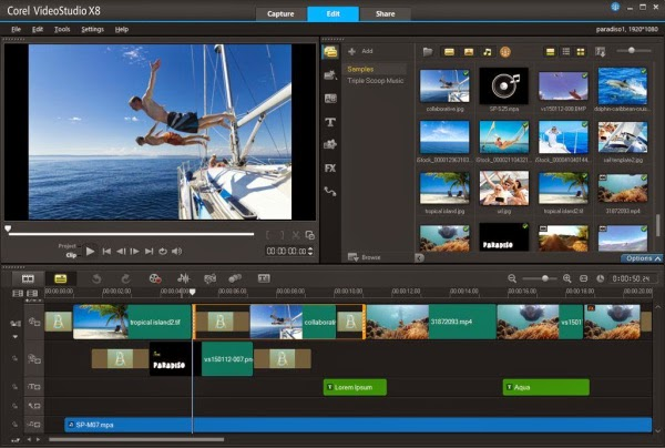 Corel VideoStudio X8 Ultimate