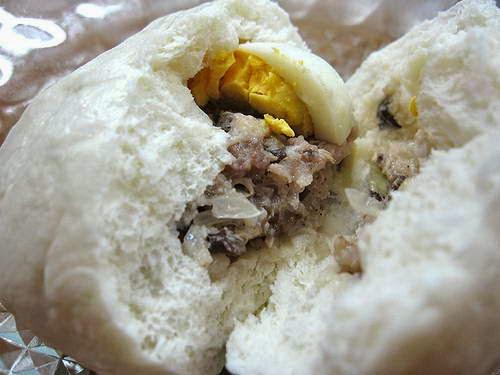 (Bánh Bao Nhân Thịt) - Dumplings with Pork Fillings