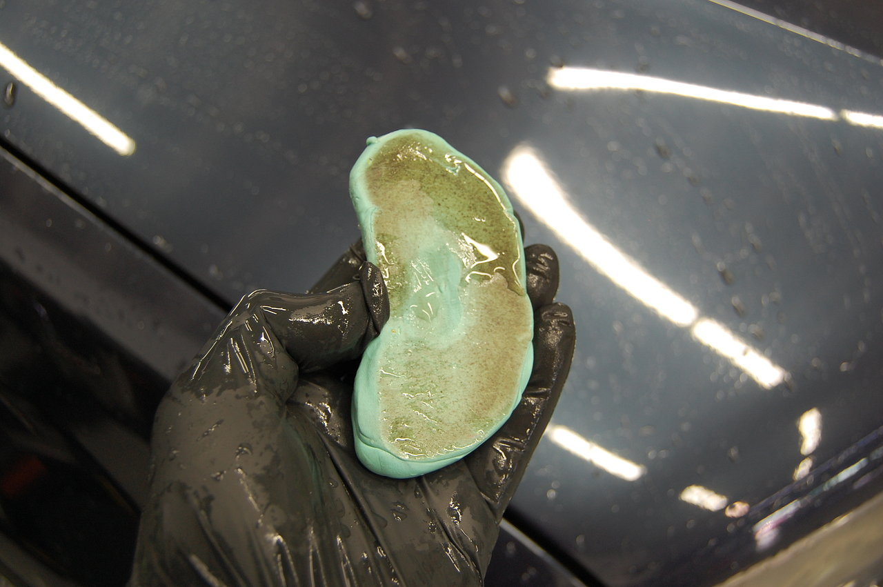 how to remove stickers from car paint work