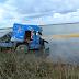 ΠΡΕΒΕΖΑ: Φορτηγό έπεσε στη θάλασσα!!!