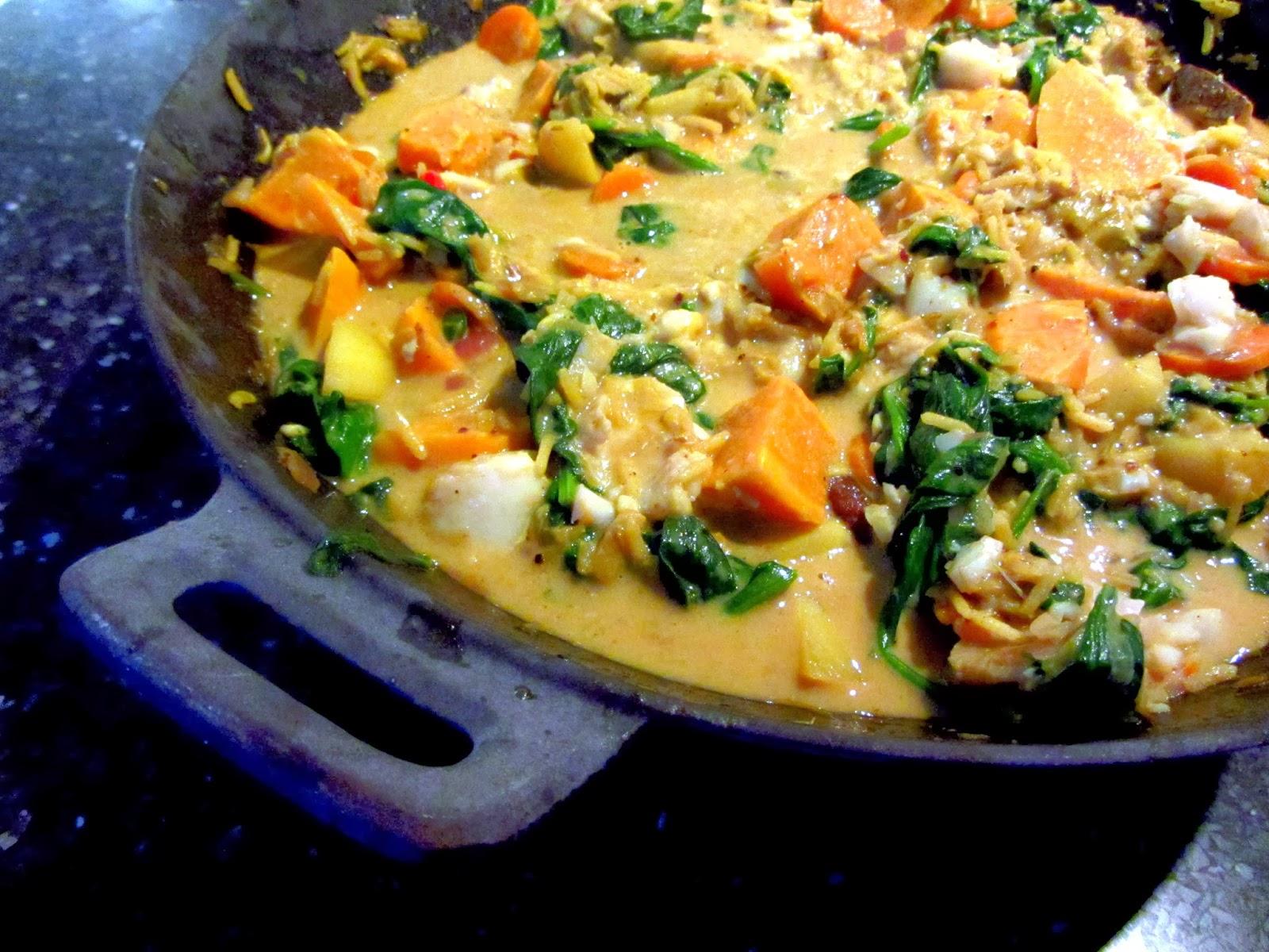 kabeljauw zoete aardappel oven