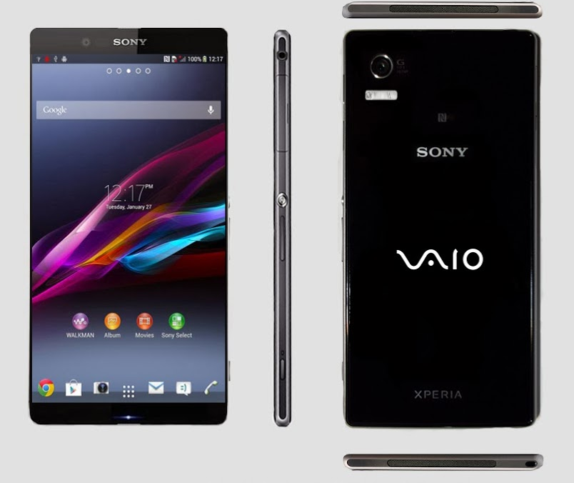 "Launch ""Sony Vaio"" phones next month"