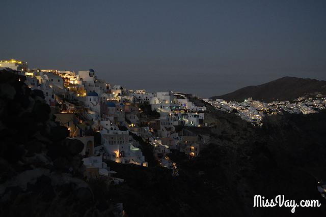 îles Grèce Santorini Paros