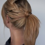 Ponytail-hairstyle-for-school-girl