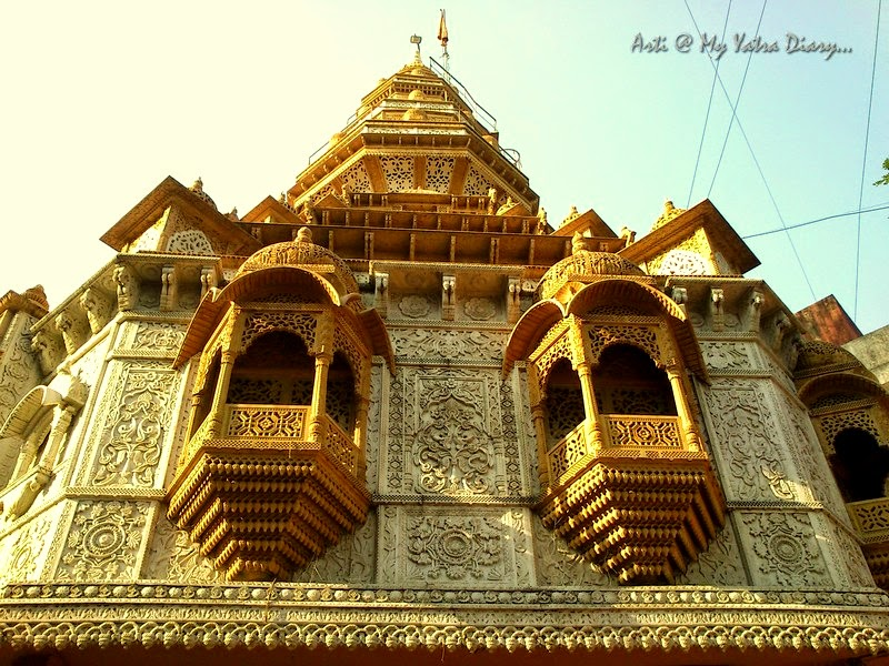 The architectural building of Shreemant Dagduseth Halwai Ganpati Temple, Pune - India