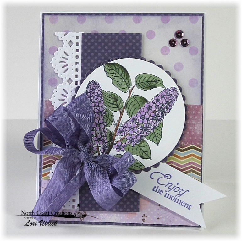 Stamps - North Coast Creations Floral Sentiments 5, ODBD Custom Beautiful Borders Dies