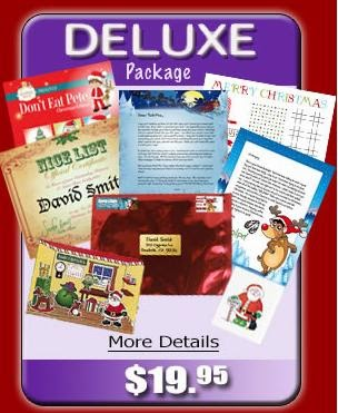 santa will write deluxe pack