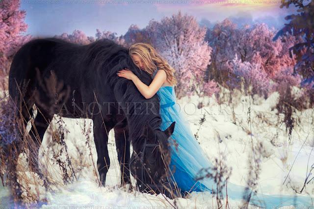 лесная фея зимой