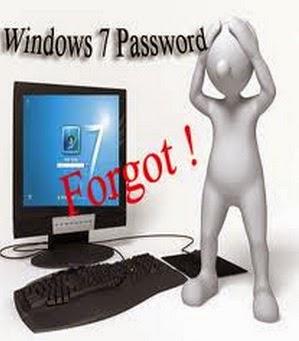forgot your windows 7 password