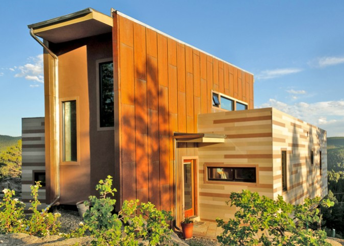 Shipping container homes studio ht shipping container house colorado - Building shipping container homes ...