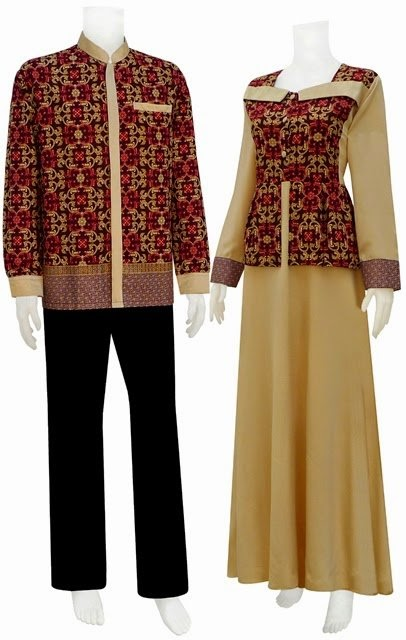 Foto Baju Batik Couple Solo