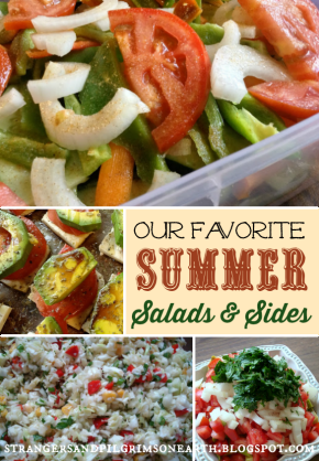 Summer Salads and Side Dishes