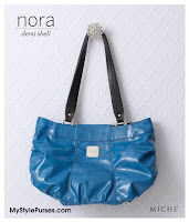 Miche Nora Demi Shell - Blue purse