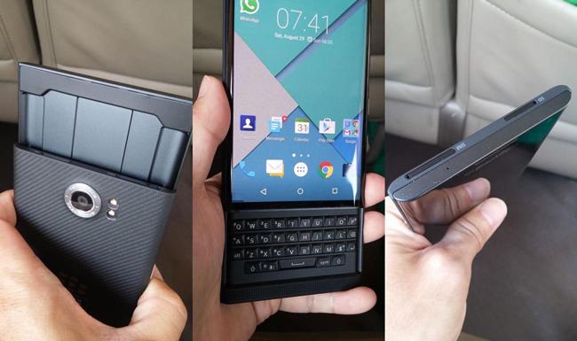 BlackBerry lanza su primer teléfono con Sistema Operativo Android