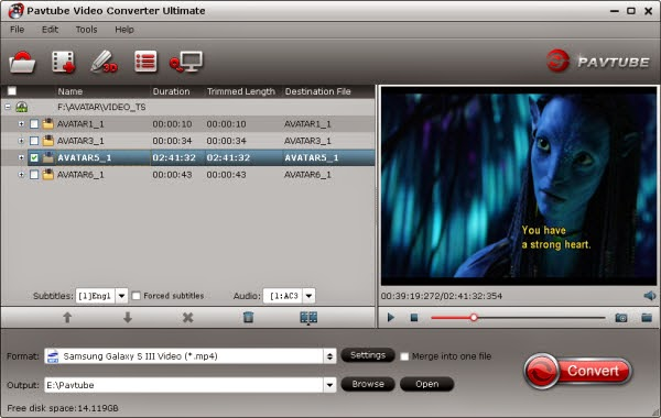QuickTime Alternatvie - Pavtube Video Converter Ultimate