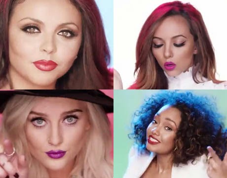Little Mix 'Move' Music Video Makeup Looks
