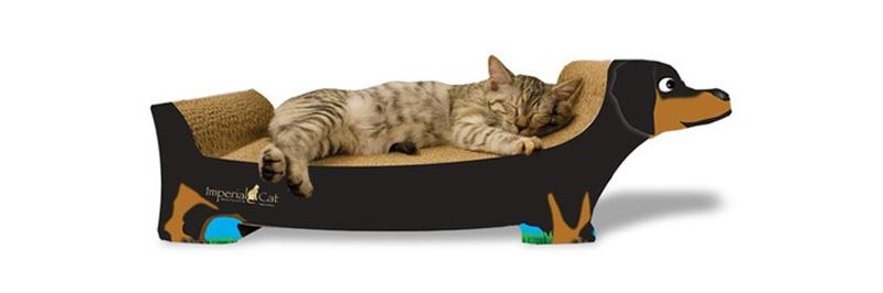 cama rascador de cartón para gatos Imperial Cat