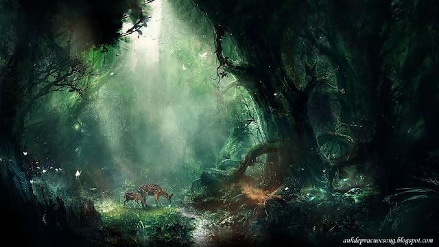 Ảnh thế giới muôn màu trong trí tưởng tượng của trẻ thơ