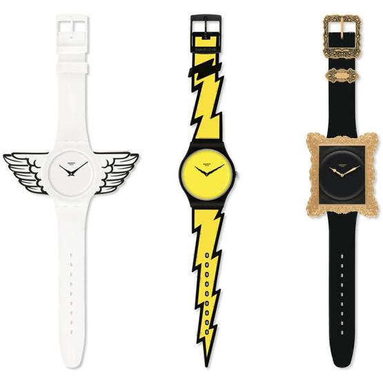 relojes Swatch diseñados por Jeremy Scott
