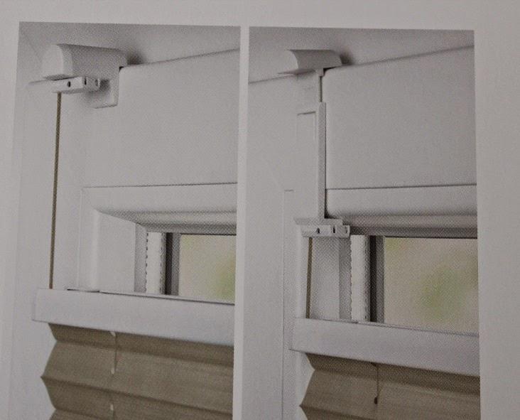 deko heimtextilien plissee. Black Bedroom Furniture Sets. Home Design Ideas