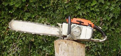 Motosierra Stihl 05AV de 1975 - Vintage/Old Chainsaw Stihl 051AV
