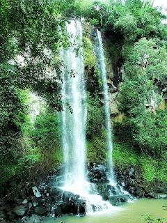Salto Arrecha, no Parque Nacional de Iguazú, em Puerto Iguazú.