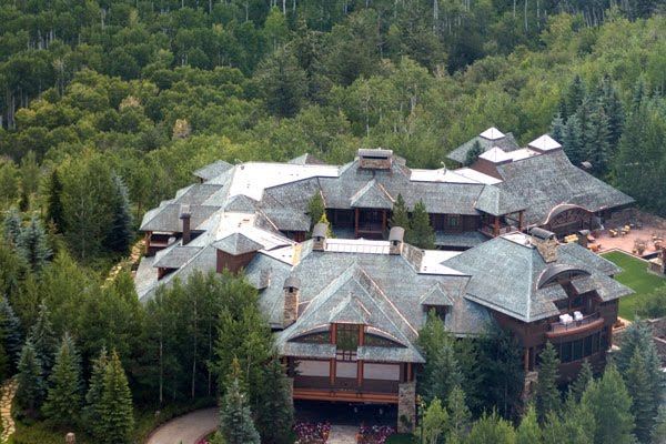 Homes of the rich and famous aspen estate sold for 49 - The waggoner ranch the worlds most expensive estate ...