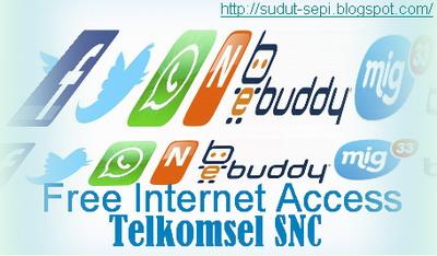 Trik Internet Gratis Telkomsel PC SNC | Sekedar Berbagi