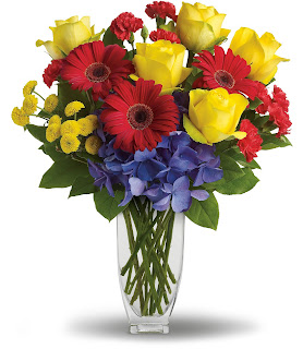Order Birthday Flowers with the Here's To You Bouquet