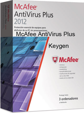 McAfee Antivirus Plus Keygen Patch Serial Number Crack Patch