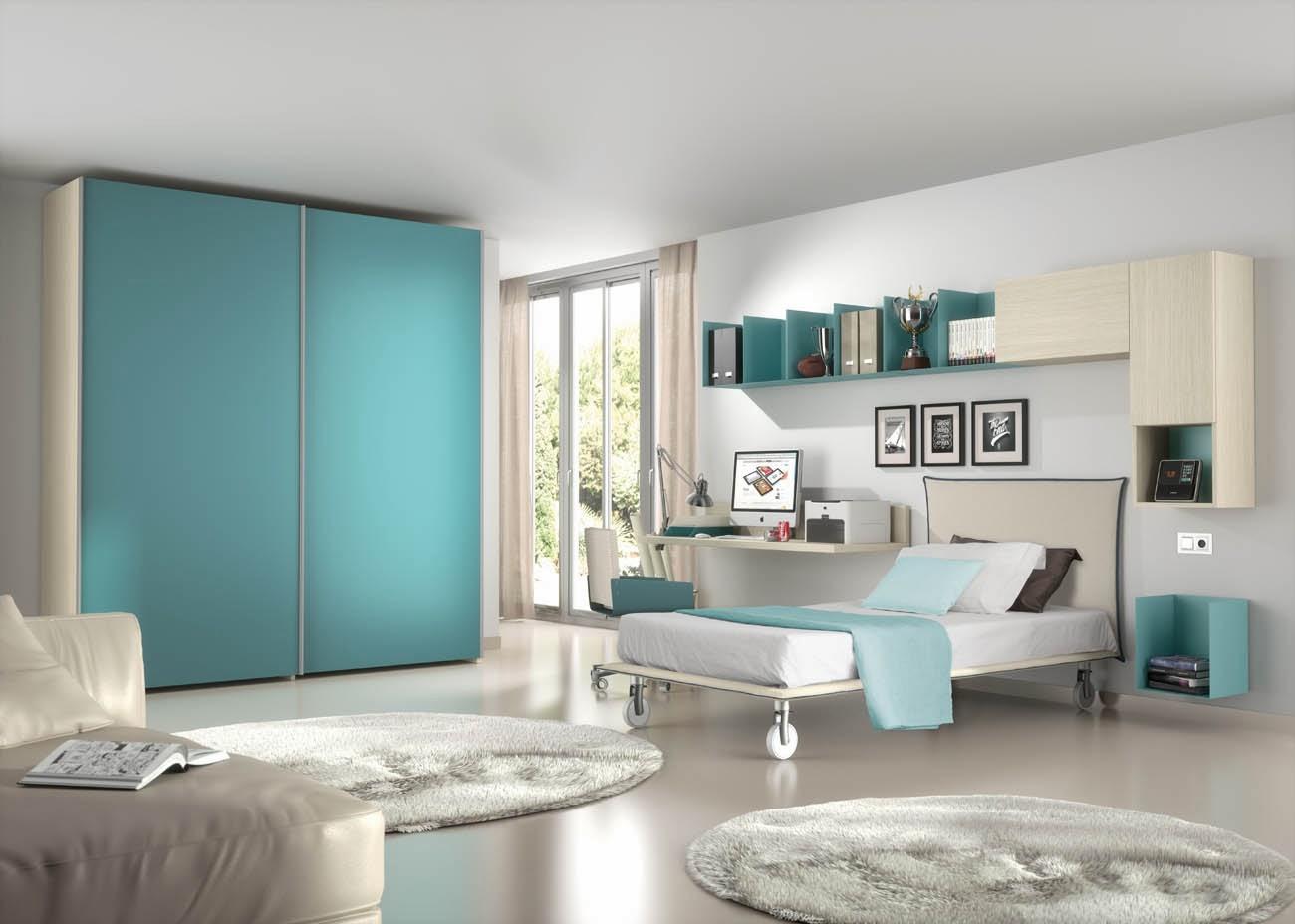 Idee camerette per stanze piccole - Idee per camere da letto piccole ...