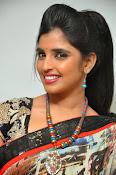 Syamala glamorous photos in saree-thumbnail-4