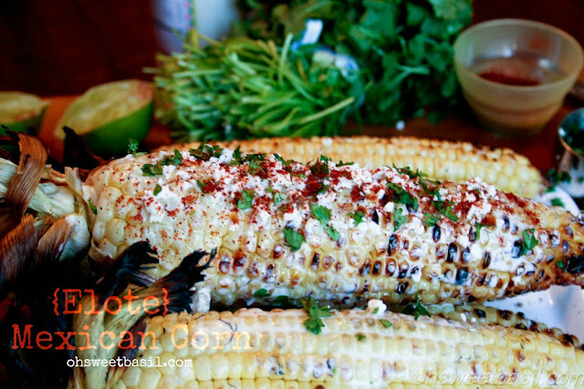 Authentic Mexican Corn {Elote}