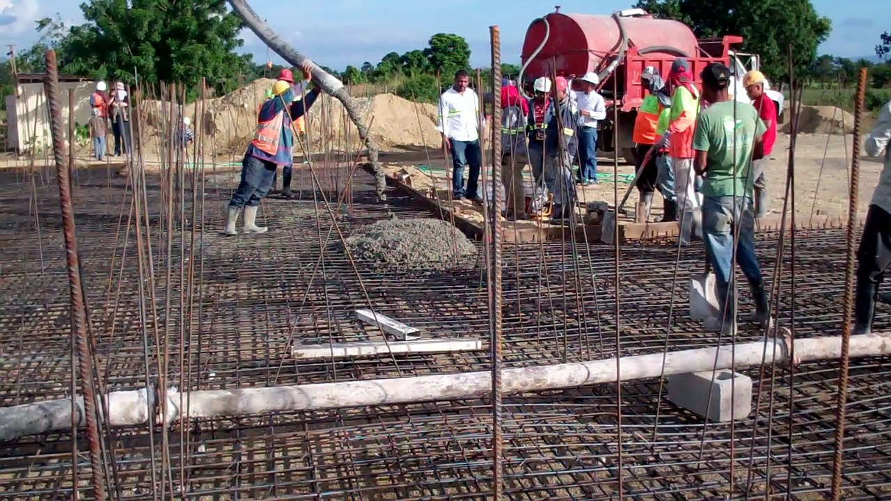 FIRST OF THE CONCRETE